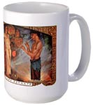 Egyptian glassblower mug